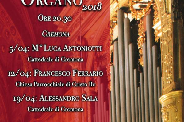 Calendario Gamba Doro 2020.Concerti Di Organo 2018 Calendario E Programma